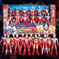 男孩奥特曼玩具套装组合赛罗泰罗儿童全套偶迪迦机器人