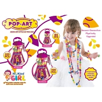 DIY女孩手工串珠玩具儿童益智手工编织手链项链儿童礼物