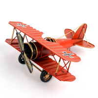 物有物语 工艺品 复古大号手工铁艺飞机模型摆件创意家居金属工艺品