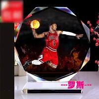 新款水晶相框 篮球星詹姆斯科比罗斯艾佛森库里球迷手办用品生日礼物送男生 1