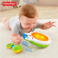 【当当自营】费雪 宝宝敲击小手鼓CCG07 音乐玩具易携带 早教益智玩具