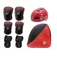 20180407225921781奥得赛儿童溜冰鞋防护套装05护具六件套025安全头盔022轮滑包旱冰