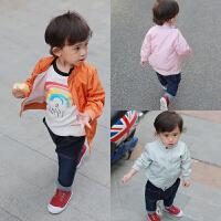 婴童装女宝宝春装男童外套装婴儿卫衣服1岁春秋