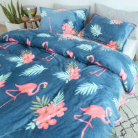 珊瑚绒毛毯冬季加厚法兰绒单人双人被子学生宿舍午睡毯子夏季薄款J