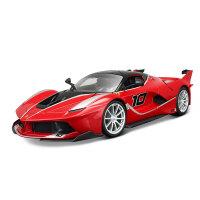 车模法拉利拉法跑车仿真合金模型玩具礼物