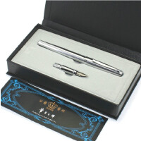 德国公爵209白钢美工钢笔 弯头钢笔 书法笔 送铱金笔头