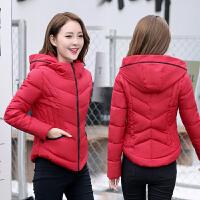 【年货节 直降到底】2020冬装新款女装外套棉衣棉服短款棉袄韩版修身立领连帽加厚上衣