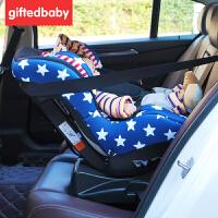 儿童安全座椅0-4岁婴幼儿宝宝便携式车载通用可坐可躺安全椅
