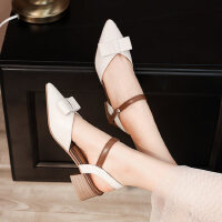 户外时尚女士凉鞋休闲舒适中跟鞋气质百搭女鞋ins潮