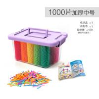 雪花片加厚大号儿童积木塑料力女孩男孩拼插拼装玩具