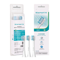 罗曼电动牙刷头 迷你杜邦软毛护敏刷头 通用三支装 SN01 敏感型