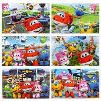 儿童拼图乐迪3-4-5-6周岁幼儿园女宝宝男孩玩具飞侠40片