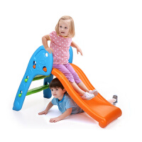 儿童房室内户外滑滑梯 皇冠卡通小鹿宝宝上下式折叠滑梯 游乐幼儿园健身玩具