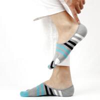 五指袜男棉秋冬款分趾运动袜子浅口短筒隐形船袜男短袜