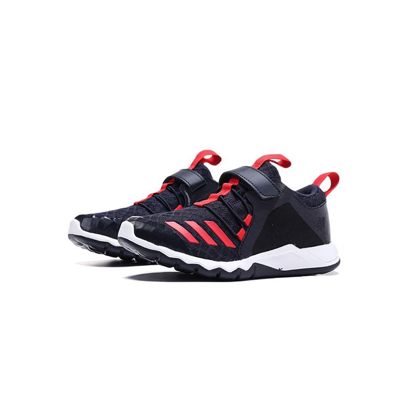adidas阿迪达斯童鞋男小童透气魔术贴跑步鞋儿童运动鞋欢庆元宵满300减30 满600减60 满900减90