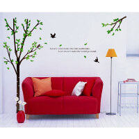 宜美贴 林间故事墙贴 客厅卧室背景墙创意装饰墙面贴纸
