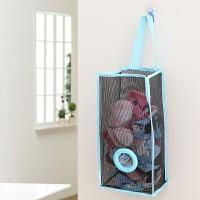创意吊挂式厨房垃圾袋收纳袋 储物袋 环保塑料袋购物袋抽取袋