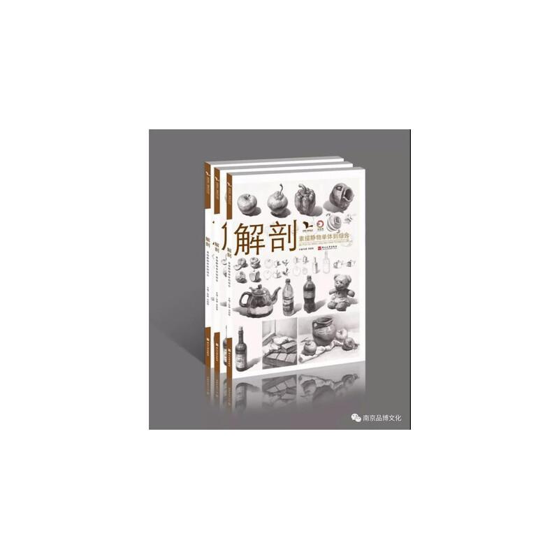 2018正版我有我一套解剖素描静物单体到组合孙建邓招煌素描基础书燕山大学出版社绘世界名师力作高艺联考美术书