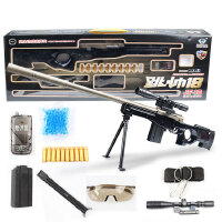 玩具枪抛壳98k狙击枪突击步枪巴雷特水弹抢可发射