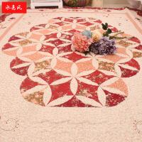 韩式田园居家布艺纯棉加厚卧室客厅地垫地毯宝宝爬行垫沙发整体垫