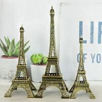 巴黎埃菲尔铁塔模型摆件工艺品艾菲尔客厅酒柜创意摆设品生日礼物