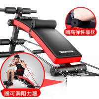 仰卧板腹肌仰卧起坐板运动健身器材家用多功能收腹器哑铃凳