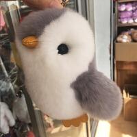 小企鹅手机挂件毛绒玩具儿童玩偶钥匙扣车装饰