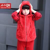 女童秋装套装2016新款儿童休闲卫衣两件套宝宝童装衣服秋冬季运动套装小孩韩版卫衣6182