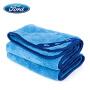 福特品牌 双面长绒加厚吸水毛巾 纤维擦车专用布 洗车毛巾 汽车用品