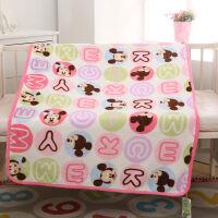 迪士尼宝宝婴儿毛毯子儿童毯空调毯法兰绒毯礼盒装