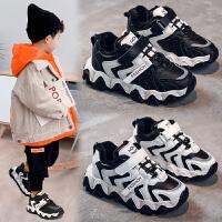 童鞋冬季男童鞋子冬保暖运动鞋休闲儿童鞋