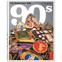 现货TASCHEN原版 All-American Ads of the 90s,90年代美国复古老广告插画设计 复古老