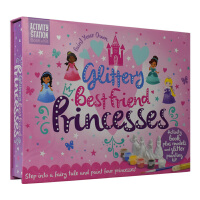Activity Station Paint Your Own Glittery Best Friend Prince
