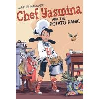 预售英文原版 亚斯米纳主厨与土豆危机 儿童漫画Wauter Mannaert 图像小说Chef Yasmina and