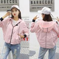 秋装新款时尚夹克女2017韩版原宿学生大码运动棒球服短外套