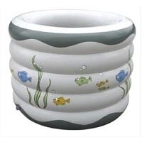YT207 加大保温型五环圆形婴儿充气游泳池浴缸洗澡池9件套