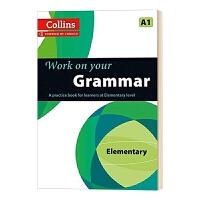 柯林斯攻破你的语法A1 英文原版 Collins Work on Your Grammar A1 英语语法训练 适合剑桥