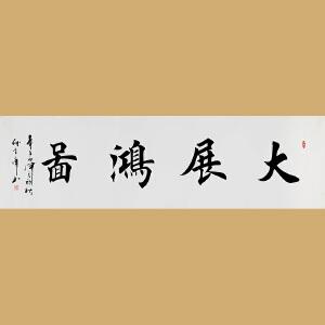 中国书画家协会会员 著名书画家孙金库先生作品――大展鸿图