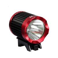 LED山地车强光手电筒骑行装备T6充电自行车前灯