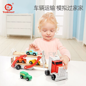 特宝儿 木制拆装组装工程车儿童宝宝动手益智拼装玩具男孩3-6周岁120327
