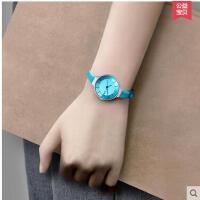 韩版简约潮流时尚少女手表女时尚学生手表儿童中学生款儿童手表小巧迷你石英表可爱休闲防水支持礼品卡支付