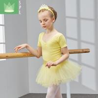 儿童舞蹈服装幼儿练舞演出服女童练功服考级服儿童芭蕾舞裙
