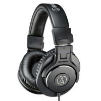 铁三角(Audio-technica)M30x ATH-M30x 监听耳机 录音室监听耳机 实现高清晰度音响效果