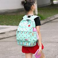 小学生书包女生4-6年级减负轻便小清新儿童双肩包