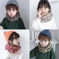 ������脖�n版秋冬季�和�防�L脖套男孩女孩��巾保暖舒�m�和�脖套潮