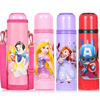 迪士尼儿童保温杯男女便携304不锈钢杯子可爱卡通水杯小学生水壶350ml/500ml