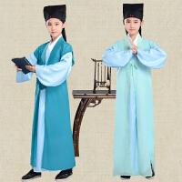 儿童古装汉服童装书童国学服男女童三字经表演服演出舞蹈服装
