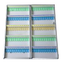 120位金属钥匙管理箱壁挂式钥匙柜锁匙分类收纳盒银行钥匙保管箱 120位钥匙箱