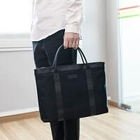苹果小米联想华为13.3/14/15寸手提笔记本电脑包防水文件包袋男女