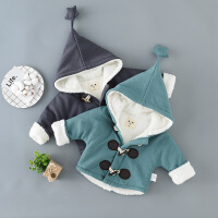 淘气麦兜 婴儿棉衣新生幼儿衣服男女宝宝冬装棉衣袄冬天加厚冬季保暖棉袄